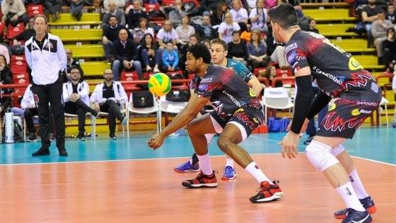 Volley, Champions: Perugia in semifinale, dominato lo Chaumont