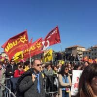 Il corteo contro le mafie organizzato da Libera a Padova