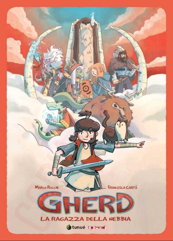 Gherd, la viandante sul mare di nebbia