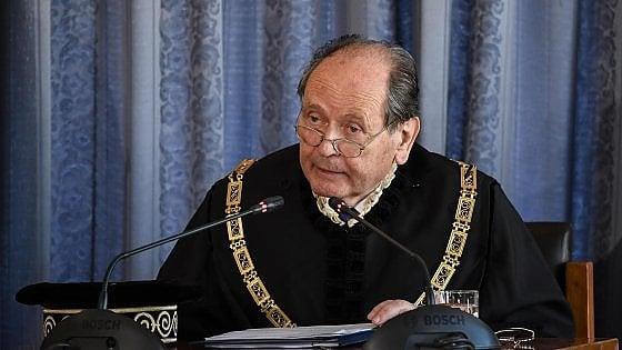"""Caso Diciotti, il presidente della Consulta Lattanzi: """"Ricorso delle toghe possibile"""""""