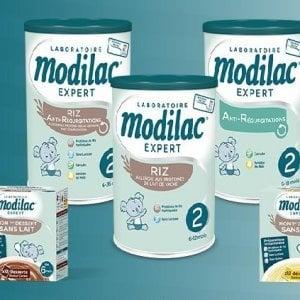 Latte di riso per bambini Modilac contaminato da Salmonella