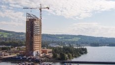 In Norvegia il grattacielo in legno più alto del mondo