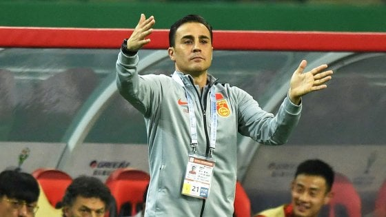 Cina, esordio da ct con sconfitta per Fabio Cannavaro