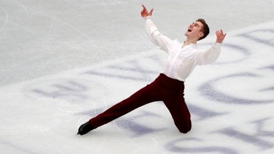 Pattinaggio su ghiaccio, Mondiali artistico: Matteo Rizzo 5° dopo il corto