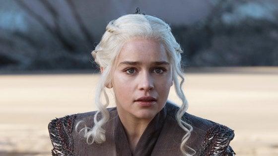 "Game of Thrones, Emilia Clarke rivela: ""Ho avuto due aneurismi"""