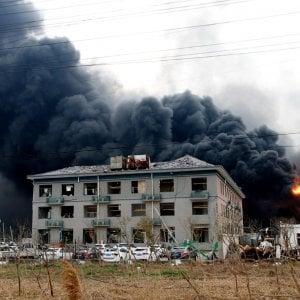 In Cina è esploso un impianto chimico: 62 morti e centinaia di feriti