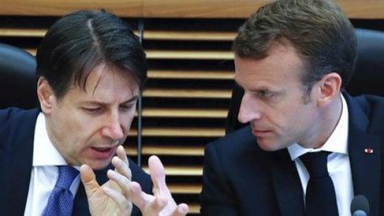 """Tav, Conte: """"Riequilibrare i costi, condiviso un metodo"""". Macron: """"Non ho tempo da perdere"""". E poi: """"Non possiamo ignorare impegni con l'Ue"""""""
