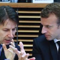 """Tav, Conte: """"Riequilibrare i costi, condiviso un metodo"""". Macron: """"Non ho tempo da..."""