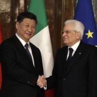 Xi Jinping al Quirinale, Mattarella: