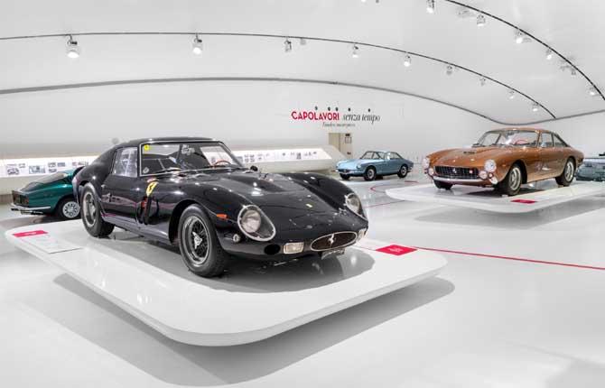 """""""Capolavori senza tempo"""" al Museo Ferrari"""
