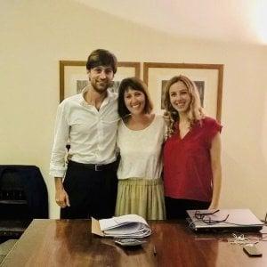Pietro Spreafico, Ludovica Busnach e Giulia Tagliaferri