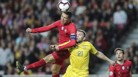 Qualificazioni Euro 2020: Sheva ferma Cristiano Ronaldo. Francia ok in Moldavia