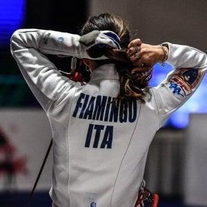 Scherma, Cdm spada: Fiamingo dopo due anni sul podio, è seconda a Chengdu