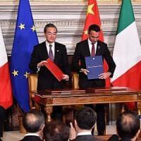 """Cina-Italia, firmati gli accordi. Di Maio: """"Valgono 2,5 miliardi ma con un potenziale di..."""