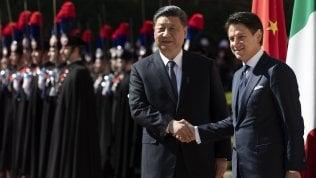 """Cina-Italia, firmati gli accordi. Di Maio: """"Valgono 2,5 miliardi ma con un potenziale di 20"""". Gelo con Salvini"""