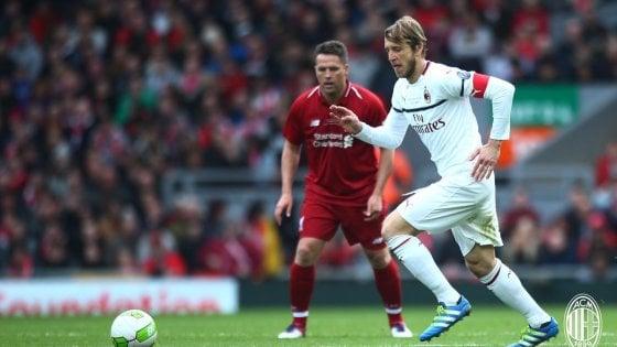 Liverpool-Milan 3-2, spettacolo tra vecchie glorie: decide Gerrard