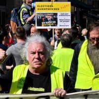 Gilet gialli, più di 40mila in piazza in tutta la Francia