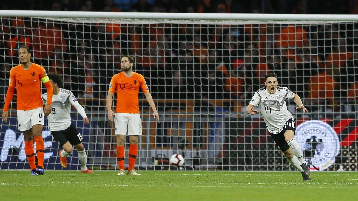 Olanda-Germania 2-3: show ad Amsterdam, Schulz allo scadere ...