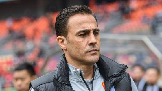 Cina, Cannavaro perde ancora: conferma da ct a rischio