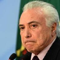 Brasile, il tribunale ordina la scarcerazione di Temer