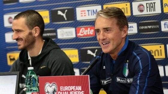 """Nazionale, Mancini: """"Cominciamo ad avere un'identità"""""""