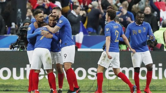 Qualificazioni Euro 2020: Francia e Inghilterra a valanga, bene Turchia e Ucraina
