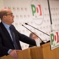 """Pd, prima direzione con Zingaretti: """"Costruire rete di alleanze intorno ai dem. Anche..."""