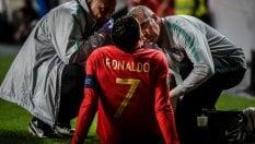 """Juventus, Allegri respira. Ronaldo può farcela per l'Ajax. Per il portoghese """"modesta lesione ai flessori"""""""