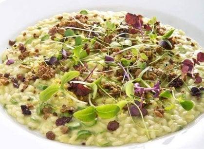 Risotto con gli asparagi, la ricetta perfetta dei fratelli Costardi