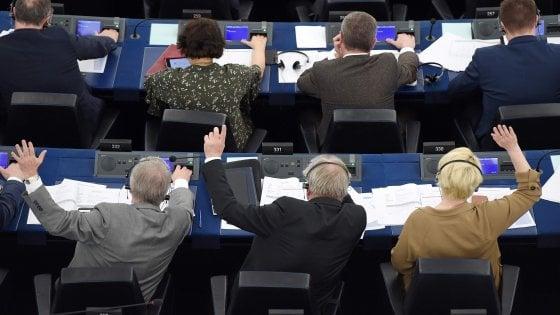 Eurodeputati al voto