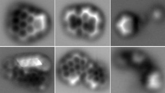 Catturate prime immagini delle molecole di fuliggine: è come un puzzle