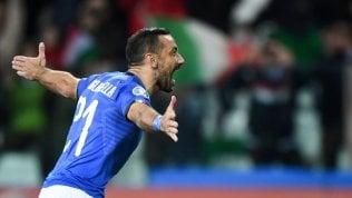 Euro2020, Italia-Liechtenstein 6-0: missione gol compiuta. E Quagliarella diventa il goleador più vecchio