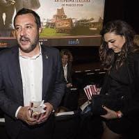 Salvini, prima uscita pubblica al cinema con la nuova fidanzata: è la figlia di Verdini