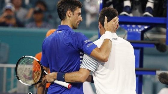 Tennis, Miami: altro passo falso di Djokovic, fuori agli ottavi