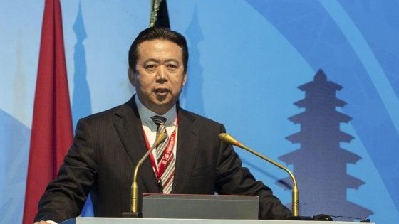Cina, ex capo Interpol espulso dal Partito e incriminato per corruzione