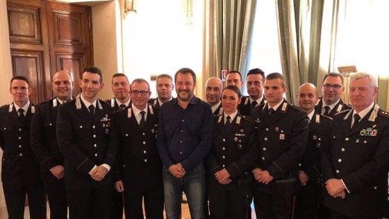 """Scuolabus dirottato, Salvini incontra i ragazzi: """"Sono stati usati per battaglia politica"""""""