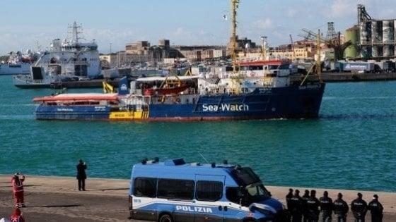 Migranti: SeaWatch,fu sequestro persona