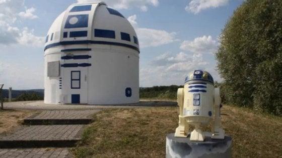In Germania l'osservatorio è 'spaziale': omaggio al robot di Star Wars