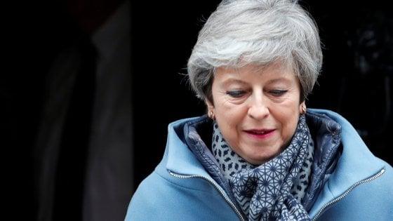 Brexit, May vorrebbe tentare la strada di un quarto voto sull'accordo