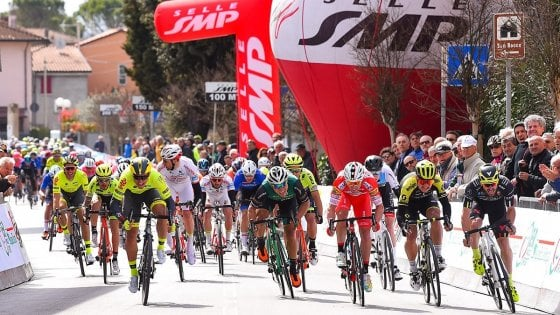 L'assessore Caldari starter alla seconda tappa della Coppi-Bartali