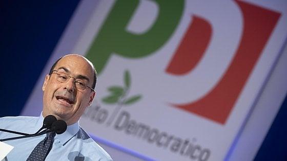Zingaretti si smarca da Zanda sull'aumento di stipendio dei parlamentari: 'Sua idea, non del Pd'