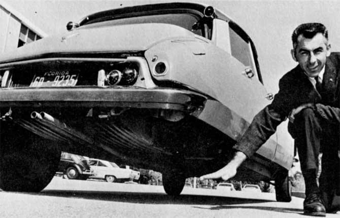 Citroën DS 19, capolavoro di equilibrio e distribuzione dei pesi