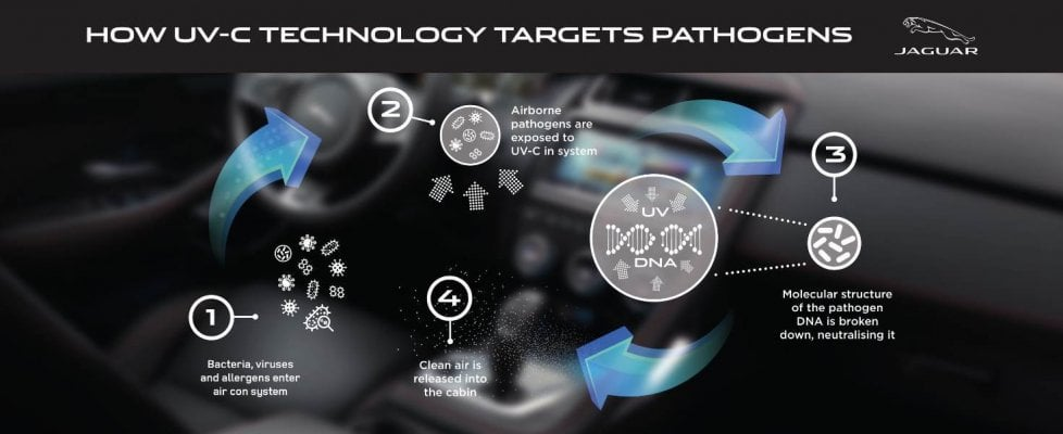 Batteri e virus: così l'auto li distruggerà