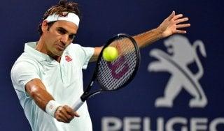 Tennis, Miami: Federer e Shapovalov in semifinale, Halep si ferma sul più bello
