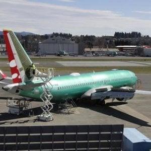 Treviso, atterraggio di emergenza per un Boeing 737 della Ryanair