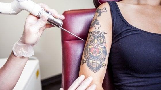 Tatuaggi: rosso, giallo e nerofumo fra i colori più a rischio