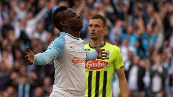Ligue 1, la doppietta di Balotelli non basta: Marsiglia ripreso dall'Angers