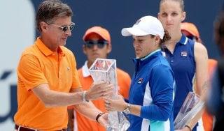 Tennis, Miami: colpo doppio Barty, trofeo e prima volta in top ten