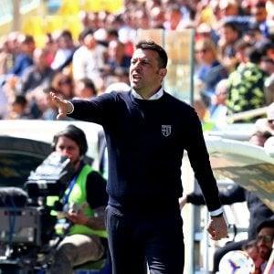 """Parma, D'Aversa: """"Salvezza? Giocando così sono sereno"""""""