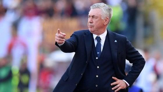 """Napoli, Ancelotti: """"Mi aspettavo una prestazione così"""""""